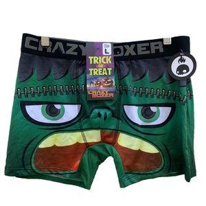 CRAZY BOXER Trick or Treat Halloween Boxer Briefs